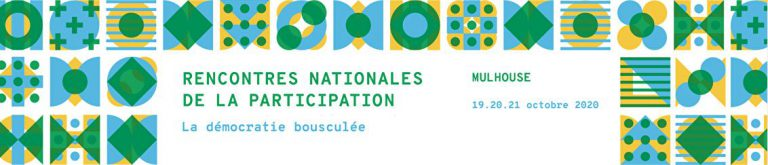 Rencontres nationales de la participation 2020 à Mulhouse